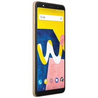 View Lite 4G - 16 Go - OrMonobloc Edge avec flash 3G avec autofocus avec GPS avec écran tactile 16 Go avec WiFi 3G+ 3G++ Android avec APN 13 Mpixels 1,5 GHz 4G LTE Smartphone Double SIM Bluetooth 4.2 2 Go Avec Radio FM 147 g Barre microSD, jusqu'à 128 Go HSDPA HSUPA avec zoom numérique Mediatek MT6739 Quad-core View Lite 5,45 pouces Or