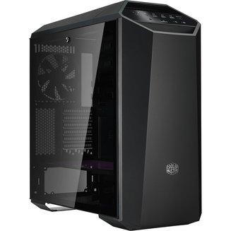 MasterCase MC500M (Fenêtre) - NoirATX Micro ATX Noir sans alimentation Oui Boitier grand tour Mini ITX 140 mm Plastique 4 1 2 6 Acier, Verre Trempé E-ATX