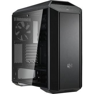 MasterCase MC500P (Fenêtre) - NoirATX Micro ATX Noir sans alimentation Oui Boitier grand tour Mini ITX 140 mm Plastique 4 2 6 2 Acier, Verre Trempé E-ATX