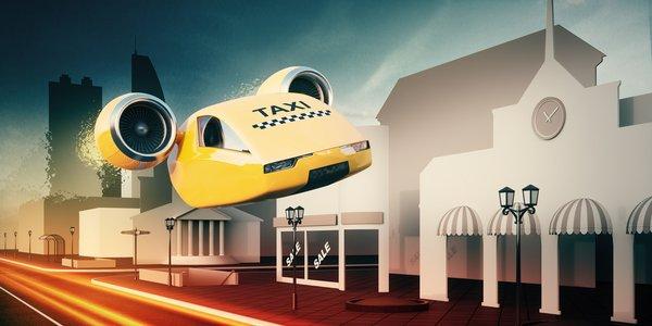 fotolia taxi volant