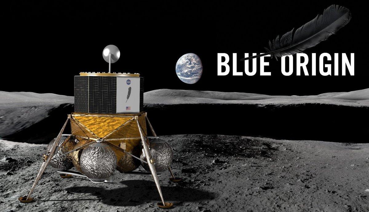 Blue Origin Lune