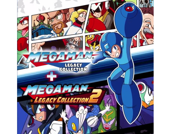 Megaman Collection Switch