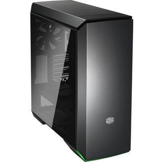MasterCase MC600P (Fenêtre) - NoirATX Micro ATX Noir sans alimentation Oui Boitier grand tour Mini ITX 140 mm Plastique 4 2 6 Acier, Verre Trempé E-ATX