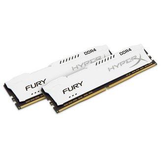 HyperX Fury Blanc 2 x 8 Go DDR4 PC21300 (HX426C16FW2K2/16)8 Go Dual Channel DIMM DDR4 16 Go PC21300 - 2666 Mhz 16 HyperX Fury 1,2 V 10 an(s)