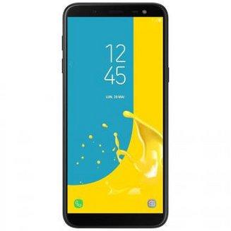 Galaxy J6 - NoirMonobloc Edge avec flash 3G avec autofocus avec GPS avec écran tactile avec WiFi 3G+ 3G++ 32 Go Android avec APN 13 Mpixels 4G LTE Smartphone Double SIM Bluetooth 4.2 FM USB 2.0 3 Go Barre 5,6 pouces micro-USB 1.6 GHz MicroSD jusqu'à 256 Go Galaxy J6 Noir