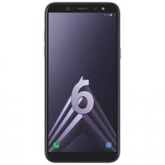 Galaxy A6 - Bleu argentéMonobloc Edge avec flash 3G avec autofocus avec GPS avec écran tactile avec WiFi 3G+ 3G++ 32 Go Android 4G LTE Smartphone Double SIM 1,6 Ghz Bluetooth 4.2 FM avec APN 16 Mpixels USB 2.0 3 Go Barre 5,6 pouces micro-USB Exynos 7870 Octa-core MicroSD jusqu'à 256Go HSDPA HSUPA avec zoom numérique HSPA+ Galaxy A6 Blanc argenté