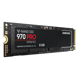 Serie 970 PRO NVMe M.2 - 512 Go PCI-Express 4x (MZ-V7P512BW)Interne SSD PCI Express 4x 512 Go 5 an(s)