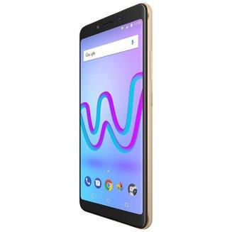 Jerry 3 - OrMonobloc Edge avec flash 3G avec autofocus avec GPS avec écran tactile 16 Go avec WiFi 3G+ 3G++ Android 1 Go Bluetooth 4.0 Smartphone Double SIM 1,3 GHz USB 2.0 Barre micro-USB MicroSD jusqu'à 64Go avec APN 5 Mpixels HSDPA HSUPA HSPA+ 5,45 pouces avec Zoom numérique 4x Jerry 3 Cortex A53 Quad-core Or