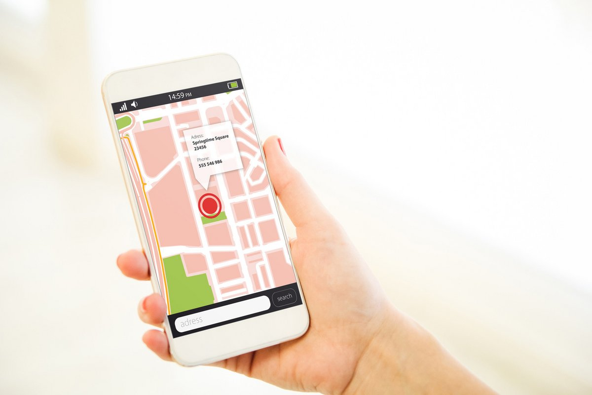geolocalisation smartphone fotolia