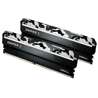 Sniper X Series 2 x 8 Go DDR4 PC27700 (F4-3466C18D-16GSXW)8 Go Dual Channel DIMM DDR4 16 Go 1,35 V 18 PC27700 - 3466 Mhz 10 an(s) Sniper X Series