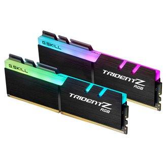 Trident Z RGB 2 x 8 Go DDR4 PC28800 (F4-3600C18D-16GTZRX)8 Go Dual Channel DIMM DDR4 16 Go Trident Z 1,35 V 18 PC28800 - 3600 Mhz 10 an(s) RGB