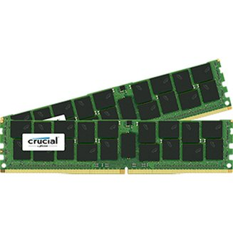 ECC QR X4 2 x 128 Go DDR4 PC21300 (CT2K128G4YFE426S)DIMM DDR4 PC21300 - 2666 Mhz 19 256 Go 1,2 V 10 an(s) 128 Go Dual Channel