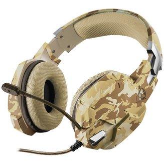 GXT 322D Carus - Camo Desertfilaire 20 Hz à 20 KHz 32 Ohm Jack 3,5 mm Circumaural Fermé Camouflage