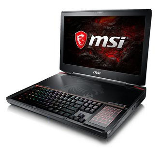 GT83 TITAN 8RF-021FR32 Go 1 To 512 Go 8 Cellules 1920 x 1080 Intel Core i7 Oui 2 an(s) Windows 10 18,4 pouces 5,5 Kg Bluetooth 5.0 Intel Core i7-8850H NVIDIA GeForce GTX 1070 - SLI
