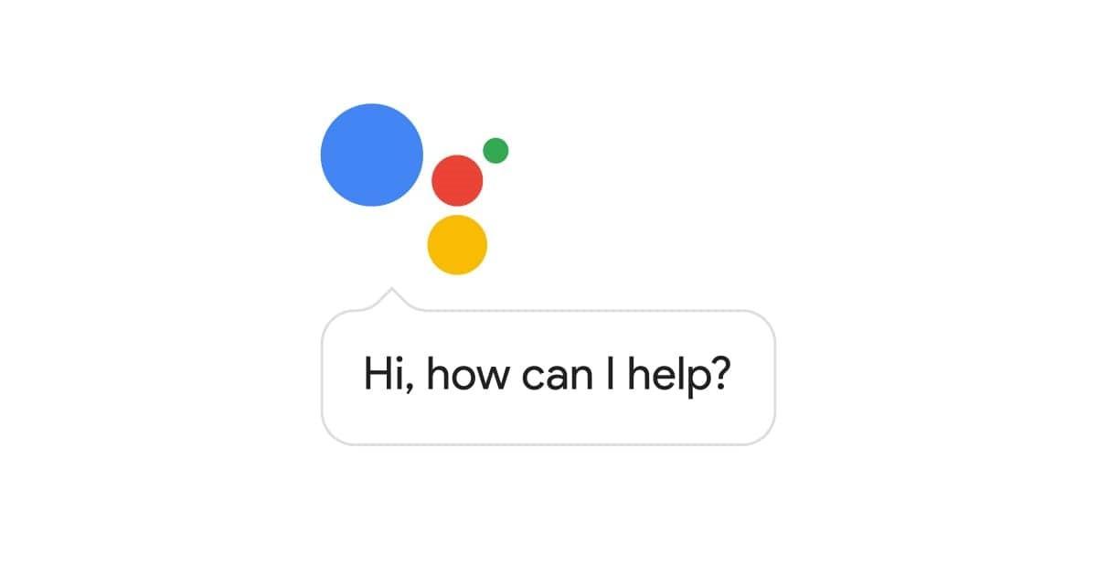 google assistant vocal
