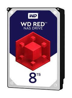 Red - 8 To SATA III (WD80EFAX)Interne 5400 tours / minute Serial ATA III 3 an(s) 8 To