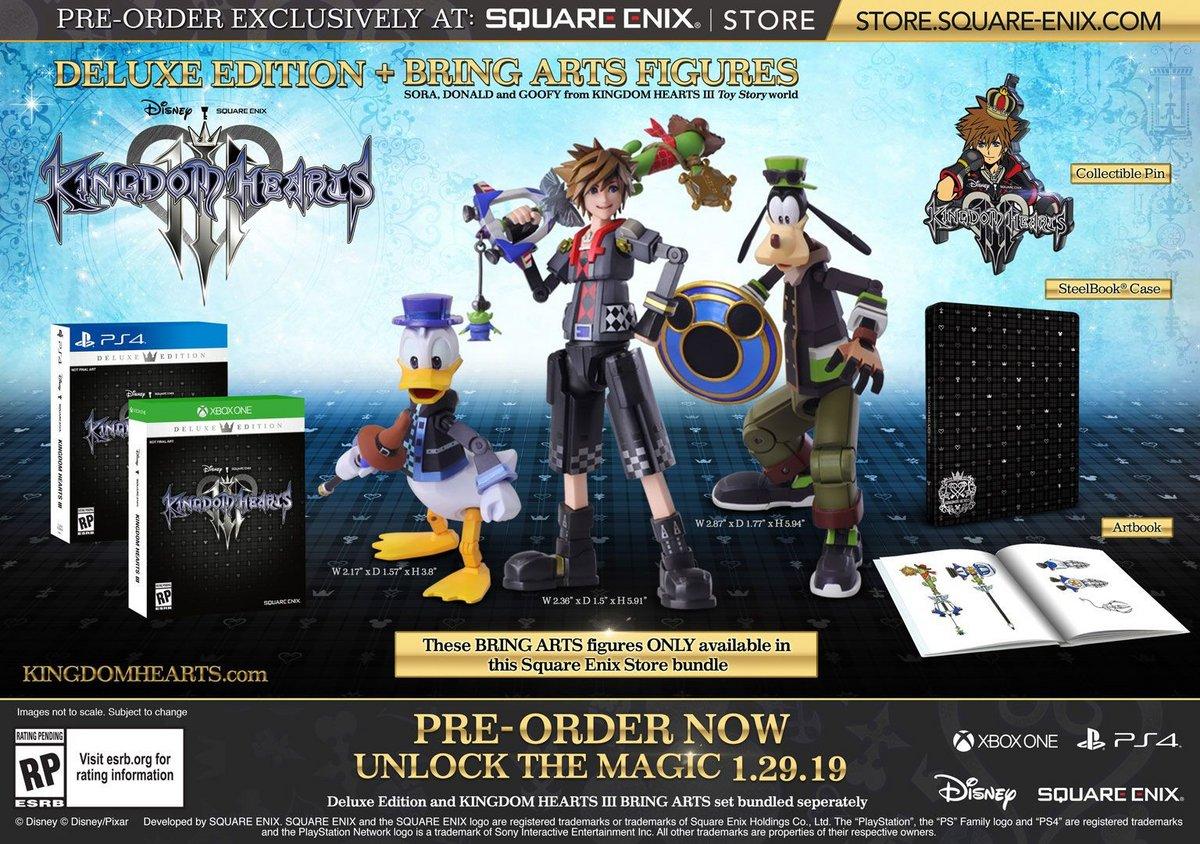 bundle Kingdom Hearts 3