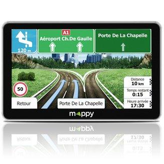 ultiX755 Truck Europe7 pouces GPS poids Lourds USB 44 Pays Europe