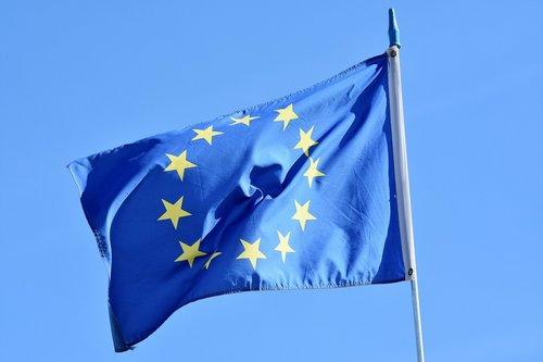 drapeau européen europe