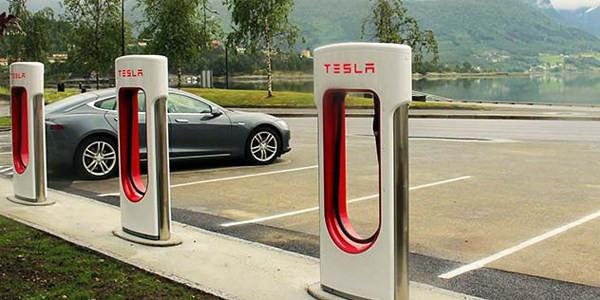 Tesla super chargeur