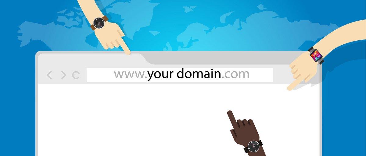 Fotolia nom de domaine site internet