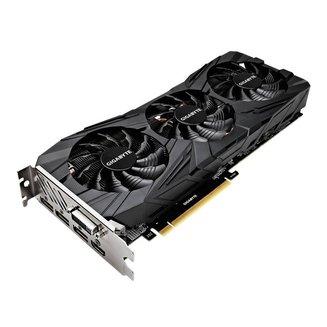 GeForce GTX 1080 Ti Gaming OC Black - 11 Go (GV-N108TGAMINGOC BLACK-11GD)avec ventilateur PCI Express x16 1 x DVI-D 1 x DVI 3 x DisplayPort 1.4 1 an(s) GDDR5X 1 x HDMI 2.0 11 Go GeForce GTX 1080 Ti