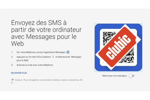 android messages qr code version web