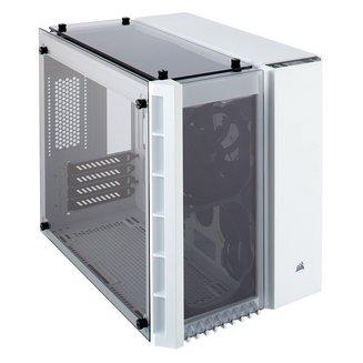 Crystal 280X (Fenêtre) - BlancMicro ATX sans alimentation Oui Boitier mini tour Mini ITX 140 mm Plastique 2 6 3 Acier, Verre Trempé Blanc
