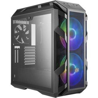 MasterCase H500M (Fenêtre)Boitier moyen tour ATX sans alimentation Oui m-ATX 2 6 6 E-ATX 200 mm