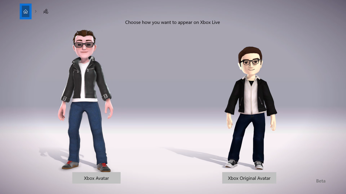 Xbox nouveaux avatars