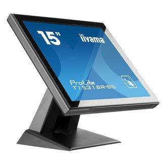 ProLite T1531SR-B515 pouces 1024 x 768 700:1 8 ms DisplayPort 370 cd/m² LCD 1 x HDMI 2 an(s) 4:3 2 W 16 W 1 x Entrées VGA (D-sub 15 Femelle)