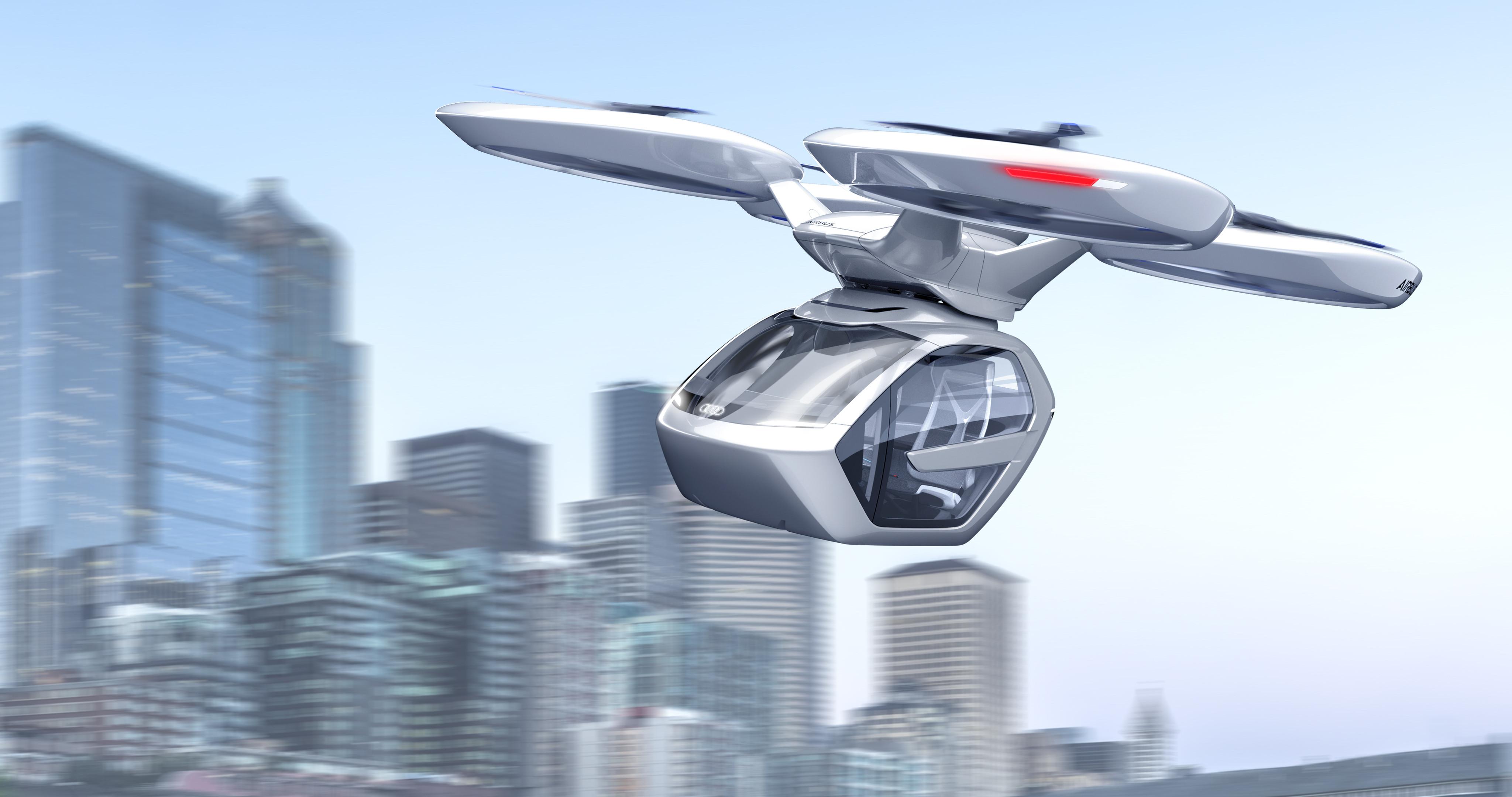 Audi abandonne son projet de développement de taxis volants
