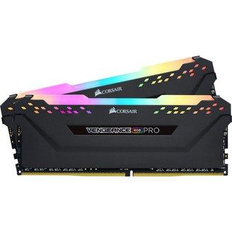 Vengeance RGB PRO Noir 2 x 8 Go DDR4 PC28800 (CMW16GX4M2C3600C18)8 Go Dual Channel DDR4 16 Go Vengeance 18 PC28800 - 3600 Mhz 1,2 V 10 an(s) RGB