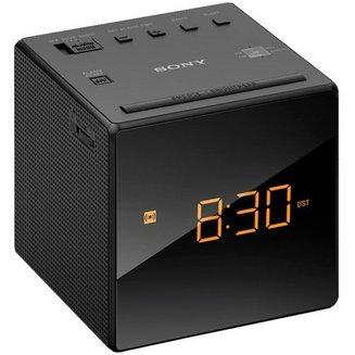 ICF-C1B - Noirsans radio internet Tuner FM Radio reveil horloge Horloge intégrée