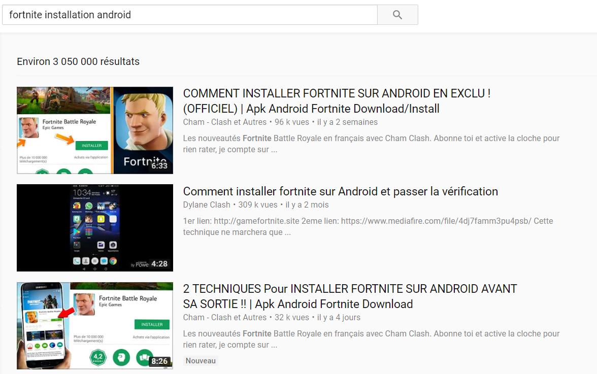 Fortnite : de nombreuses apps Android malicieuses en circulation sur