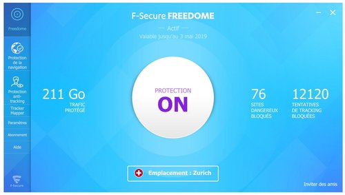 f-secure freedome pc