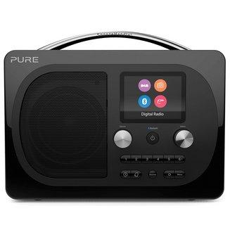 Evoke H4 Prestige Edition - NoirBluetooth sans radio internet Tuner FM Horloge intégrée Réveil numérique DAB+