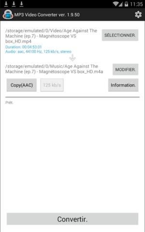 Vous pouvez convertir les vidéo MOV en MP4 et en tout autre format à l'aide d'un convertisseur gratuit en ligne.