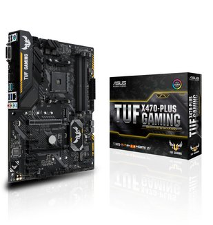 TUF X470-PLUS GAMINGATX 4 Oui Oui AMD AMD 64 Go 0 1 10 Serial ATA III Realtek 7.1 6 3 an(s) ALC887 2 DDR4 2 x PCI Express 3.0 x16 7 Realtek 8111H 5 Socket AM4 AMD X470