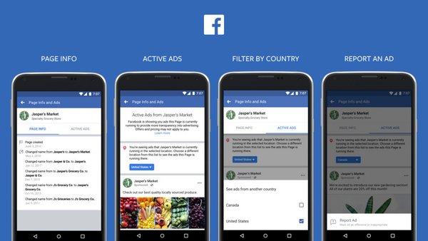 facebook plus de transparence