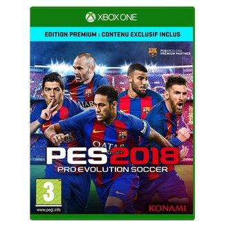 PES 2018 Premium D1 Edition3 ans et + Sport Konami