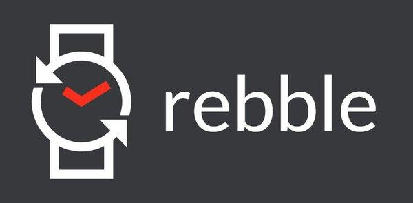 pebble rebble.io logo