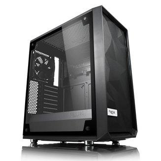Meshify C TG (Fenêtre) - NoirBoitier moyen tour ATX Micro ATX sans alimentation Oui Acier Mini ITX 7 140 mm 2 3 Verre trempé Noir