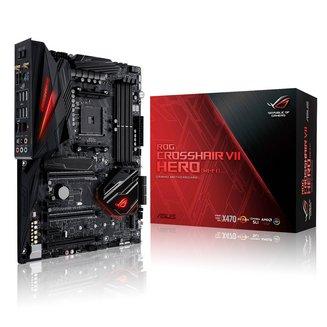 ROG CROSSHAIR VII HERO (Wi-Fi)ATX 4 Oui Oui AMD AMD 64 Go 1 x PCI Express 2.0 x16 1 x PCI Express 3.0 x16 0 1 10 Serial ATA III Realtek 6 10 8 DDR4 10 3 x PCI Express 2.0 x1 Intel I211-AT Socket AM4 ALC1220 1 X PCI Express 3.0 16x (8x) AMD X470