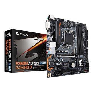 B360M AORUS Gaming 34 Oui Oui Micro ATX 1 x PCI Express x1 64 Go 1 x PCI Express 3.0 x16 4 Serial ATA III Intel Realtek 6 6 2 Intel Socket 1151 8 DDR4 ALC892 Intel I219V 1 X PCI Express 3.0 16x (4x) Intel B360 Express