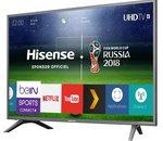 La TV 4K UHD 60 pouces Hisense à 499 euros