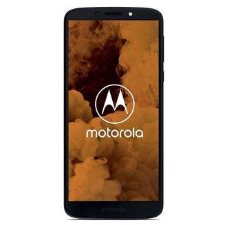 Moto G6 Play - Bleu indigoMonobloc Edge avec flash 3G avec autofocus avec GPS avec écran tactile avec WiFi 3G++ 32 Go Android avec APN 13 Mpixels 4G LTE Smartphone Double SIM NFC Bluetooth 4.2 FM 1,4 GHz 5,7 pouces 3 Go 175 g Barre microSD, jusqu'à 128 Go HSUPA HSPA Qualcomm Snapdragon 430 MSM8937 Octa-core HSPA+ Moto G6 Bleu Indigo UMTS