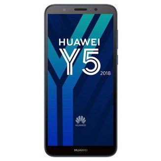 Y5 2018 - BleuMonobloc Edge avec flash avec autofocus avec GPS avec écran tactile 16 Go avec APN 8 Mpixels avec WiFi 3G+ 3G++ Android 1,5 GHz 4G LTE Smartphone Double SIM Bluetooth 4.2 2 Go Barre micro-USB MicroSD jusqu'à 256 Go HSDPA HSUPA 4G+ avec zoom numérique Mediatek MT6739 Quad-core 5,45 pouces UMTS Y5 2018 USB OTG Bleu