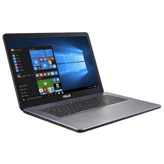 VivoBook 17 R702UB-BX065T - Gris1 To 6 Go 17,3 pouces Oui IEEE 802.11b/g/n Ordinateur Portable 1600 x 900 128 Go 3 Cellules 16 Go Gris 2 an(s) Intel Pentium Intel Pentium 4405U Windows 10 64 bits Bluetooth 4.0 2,1 kg Dual Core NVIDIA GeForce MX110