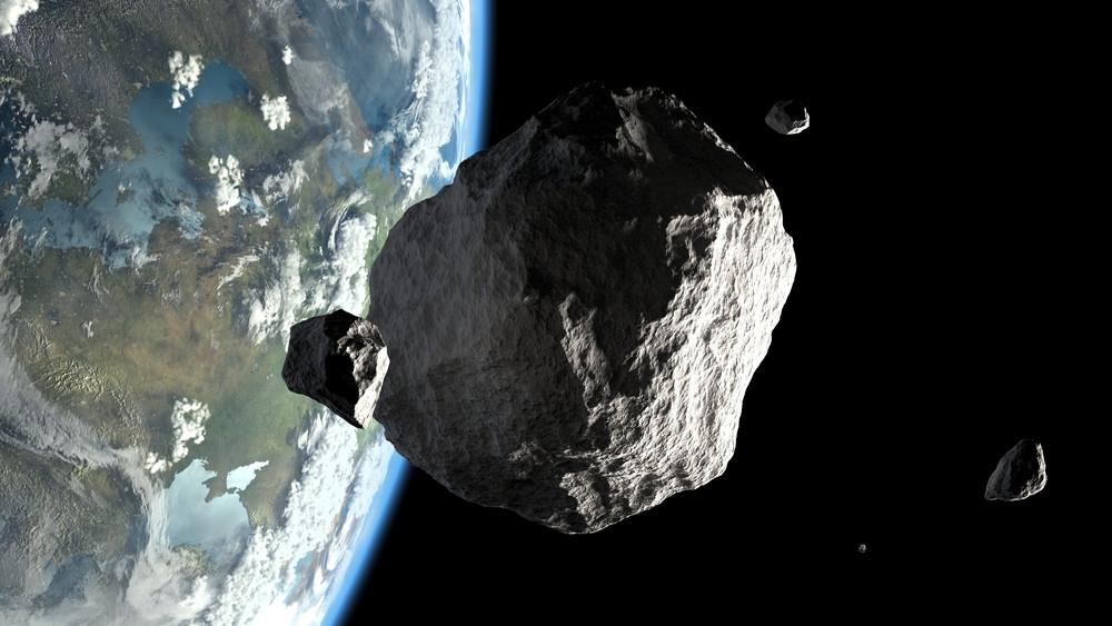 astéroïde espace terre shutterstock
